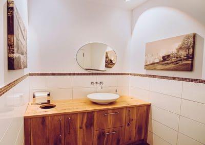 """Besucher-WC der Etage """"Berg"""""""
